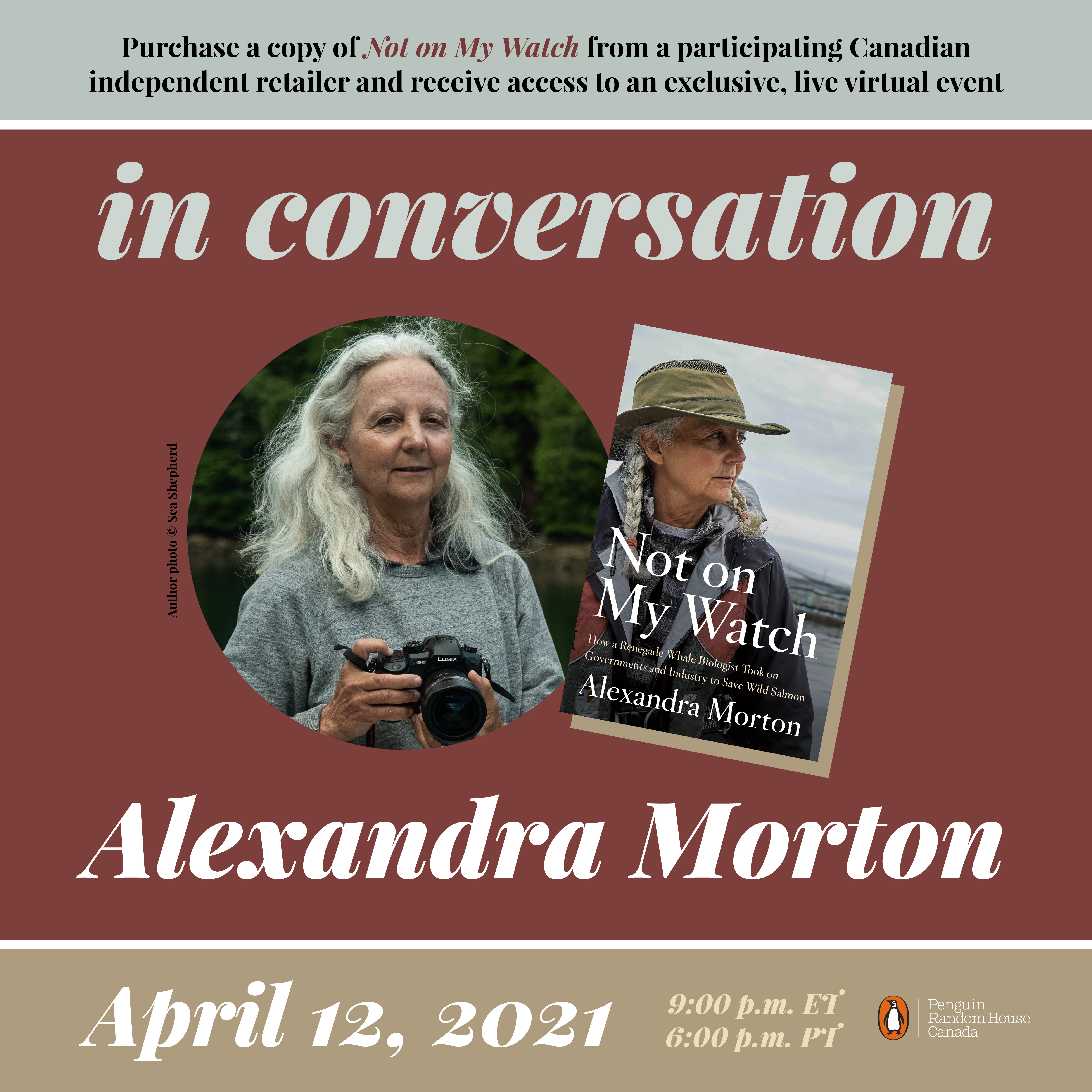 Alexandra Morton Event
