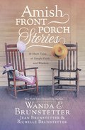 Cover image for Amish Front Porch Stories