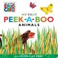 Cover image for My First Peek-a-Boo Animals