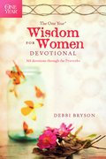 Cover image for One Year Wisdom for Women Devotional