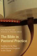 Cover image for Bible in Pastoral Practice
