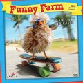 Cover image for 2018 Funny Farm Square Calendar