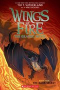 Cover image for Dark Secret (Wings of Fire Graphic Novel #4)