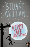 Cover image for Vinyl Cafe Turns the Page