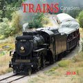 Cover image for 2018 Canadian Trains Square Bilingual Calendar