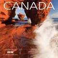 Cover image for 2018 Canada Mini 7X7 Bilingual Calendar