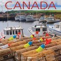 Cover image for 2018 Canada Square Bilingual Calendar