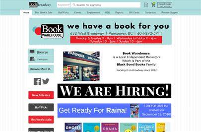 Book Warehouse Logo